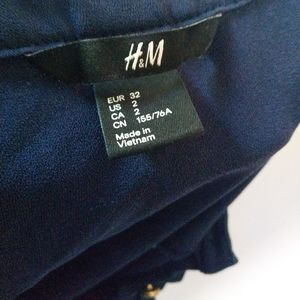 H&M Dresses - H&M Navy blue dress